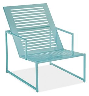 "Cruz 27x37"" Lounge Chair in Ocean"