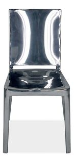 Hudson Side Chair in Polished Aluminum