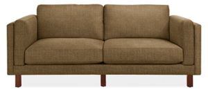 "Holden 81"" Two-Cushion Sofa in Total Mink"