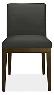 Ansel Side Chair in Dilcrest Charcoal