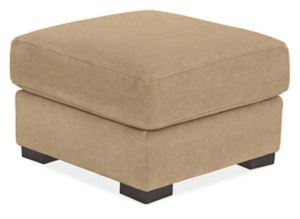 "Maxfield 22x22"" Ottoman in Vick Cement"