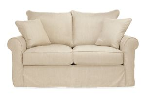 "Kendall 68"" Sofa Slipcover in Danish Linen"