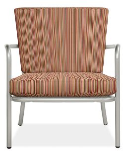 Selena Chair Cushion Set in Outdura Sunset Spice