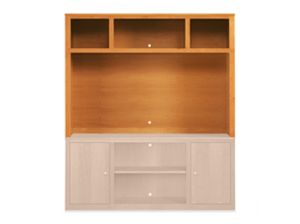 Woodwind 70w 56h Media Hutch in Cherry