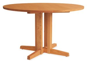 Turner 42r Dining Table in Cherry