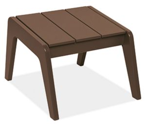 "Harbor 17.5x22"" Ottoman in Brown"