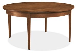 Adams 36r 18h Cocktail Table in Walnut
