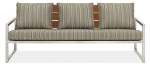 Montego Sofa Cushions in Outdura Sunset Sky