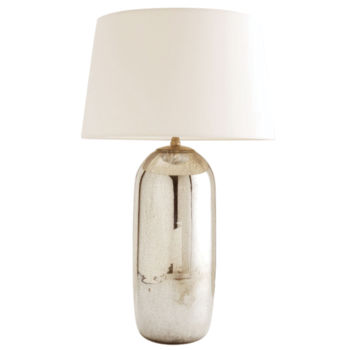 Portia Mercury Glass Lamp
