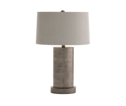 Decklan Zinc Table Lamp