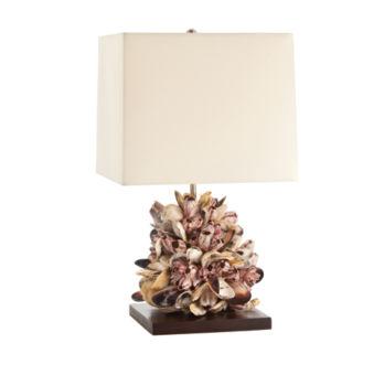 Violet Mussel Lamp