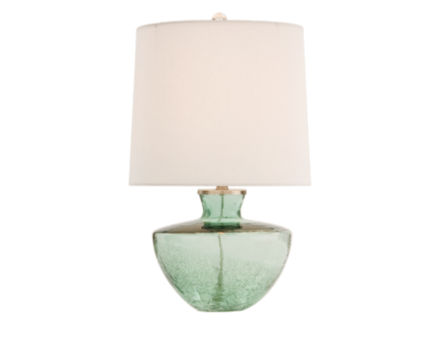 Ella Crackle Glass Lamp