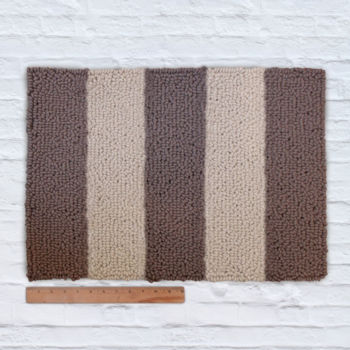 Waypoint Wool Rug - Duo Stripe Bark / Clay