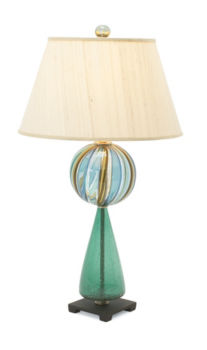 Keyhole Table Lamp
