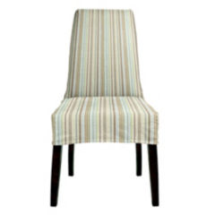 IN-STOCK: Jack Dining Chair - Sassy Stripes / Bark