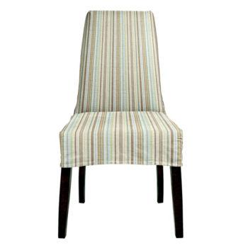 IN-STOCK: Jack Dining Chair - Sassy Stripes / Bark
