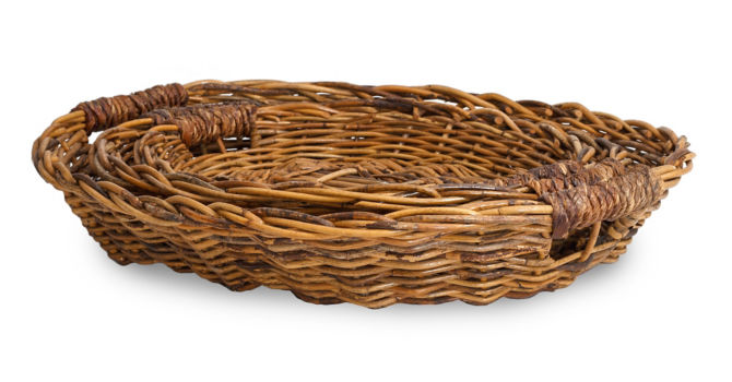 Jute Handle Nesting Trays (set of 3)