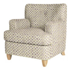 IN-STOCK: Norma Chair - Lucky Leaf / Dusk
