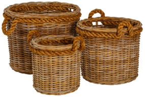 Rope Basket (set of 3)