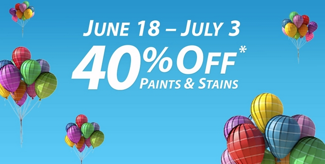 National Holiday Sale: June 18 - July 3