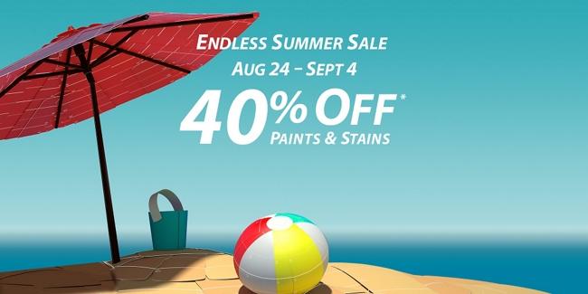 The Endless Summer Sale: August 24 - September 4