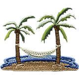 Palm Tree & Hammock