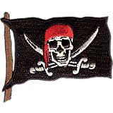 Pirate Flag With Swords