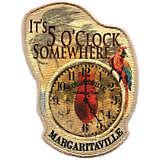 Margaritaville - It's 5 O'Clock Somewhere - Clock