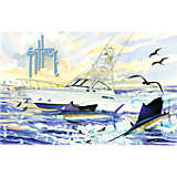 Guy Harvey® - Boat & Sailfish