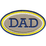 Dad - Oval