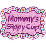 Shimmering Mommy's Sippy Cup Goblet