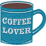 Coffee Lover - Felt and Embroidery Design