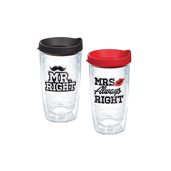 Mr. Right and Mrs. Always Right 2-Pack Gift Set
