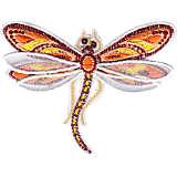 Shimmer Layered Orange Dragonfly