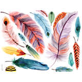 Feathers Collage