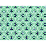 Anchors & Scallop Pattern