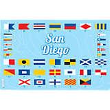 Nautical Flag San Diego