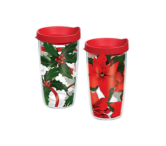Poinsettia & Holly 2-Pack Gift Set