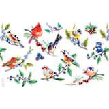 Watercolor Songbirds