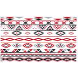 Red Aztec Pattern