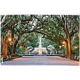 Savannah Fountain Scene
