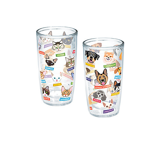 Flat Art - Cats and Dogs 2-Pack Gift Set
