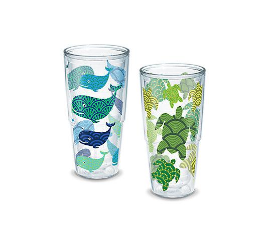 Turtle and Whale Pattern 2-Pack Gift Set