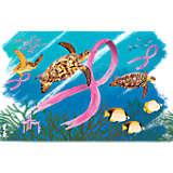 Guy Harvey® - Pink Ribbon Turtles