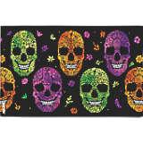 Halloween Floral Skulls