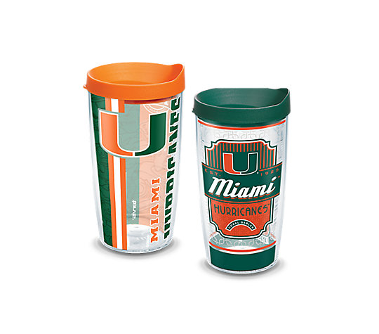 Miami Hurricanes 2-Pack Gift Set