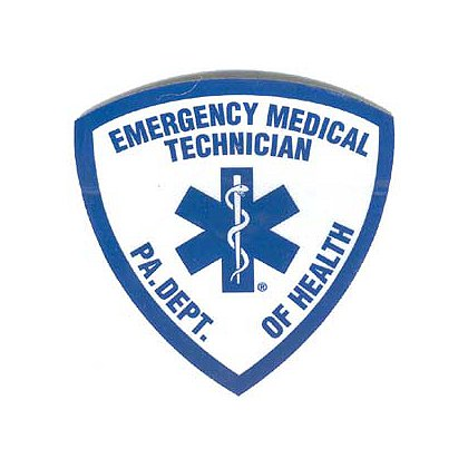 PA Emergency Medical Technician Reflective Decal