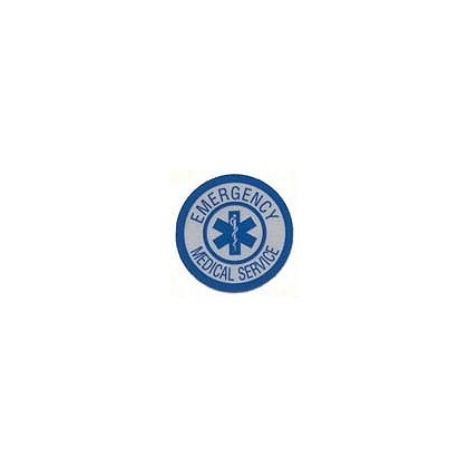 Emergency Medical Service Reflective Decal 1-3/4