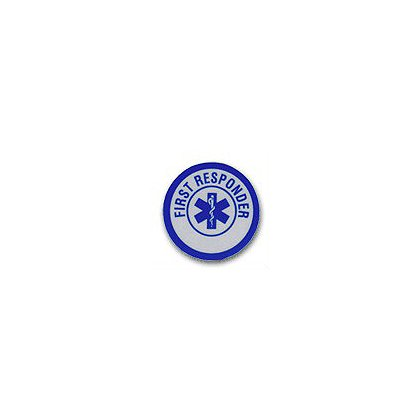 First Responder Reflective Decal 1-3/4