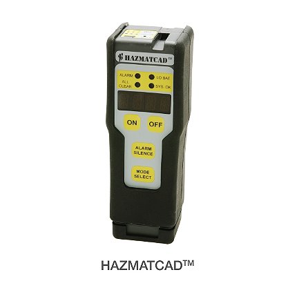 MSA: HAZMATCAD Hazardous Material and Chemical Warfare Agents Detector for First Responders